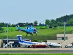 ナナオさんが、石見空港で撮影した島根県警察 A109E Powerの航空フォト(飛行機 写真・画像)