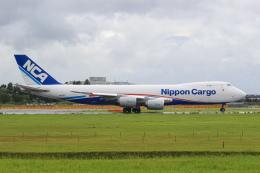 ryu330さんが、成田国際空港で撮影した日本貨物航空 747-8KZF/SCDの航空フォト(飛行機 写真・画像)