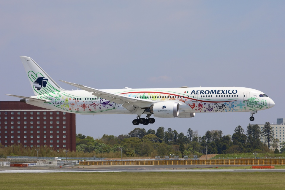 sky-spotterさんのアエロメヒコ航空 Boeing 787-9 (XA-ADL) 航空フォト