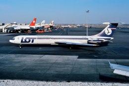 パール大山さんが、ジョン・F・ケネディ国際空港で撮影したLOTポーランド航空 Il-62の航空フォト(飛行機 写真・画像)