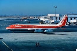 パール大山さんが、ジョン・F・ケネディ国際空港で撮影したアビアンカ航空 707-321Bの航空フォト(飛行機 写真・画像)