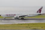 きんめいさんが、中部国際空港で撮影したカタール航空カーゴ 777-FDZの航空フォト(飛行機 写真・画像)
