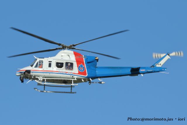 いおりさんが、名古屋飛行場で撮影した愛知県防災航空隊 412EPIの航空フォト(飛行機 写真・画像)
