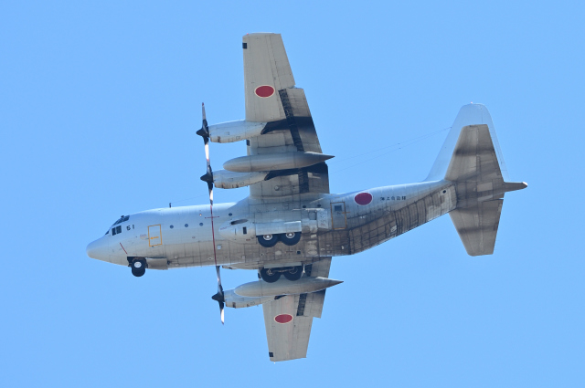masahiさんが、厚木飛行場で撮影した海上自衛隊 C-130Rの航空フォト(飛行機 写真・画像)