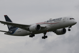 Sharp Fukudaさんが、成田国際空港で撮影したアエロメヒコ航空 787-8 Dreamlinerの航空フォト(飛行機 写真・画像)