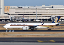 じーく。さんが、羽田空港で撮影したシンガポール航空 A350-941の航空フォト(飛行機 写真・画像)