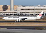 じーく。さんが、羽田空港で撮影した日本航空 777-346/ERの航空フォト(飛行機 写真・画像)