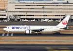 じーく。さんが、羽田空港で撮影した日本航空 767-346の航空フォト(飛行機 写真・画像)