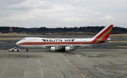 Nobu-oji_NEXUS6さんが、成田国際空港で撮影したカリッタ エア 747-246F/SCDの航空フォト(飛行機 写真・画像)