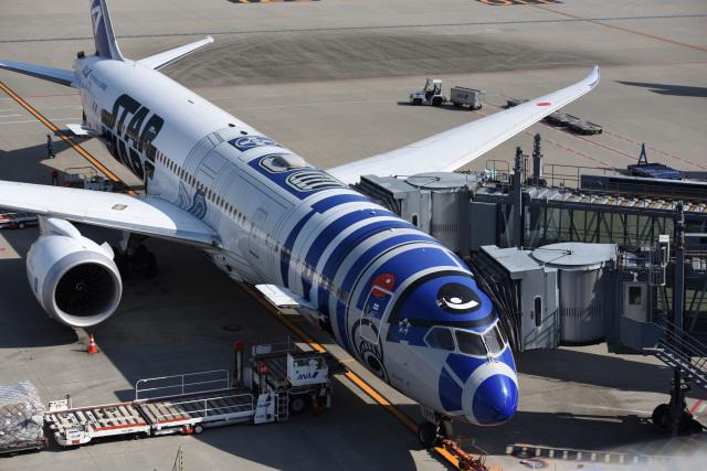 びっぐむ~ん3さんが、羽田空港で撮影した全日空 787-9の航空フォト(飛行機 写真・画像)
