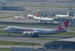 Souma2005さんが、香港国際空港で撮影したカーゴルクス 747-8R7F/SCDの航空フォト(飛行機 写真・画像)
