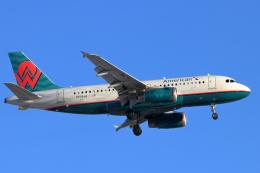 キャスバルさんが、フェニックス・スカイハーバー国際空港で撮影したアメリカン航空 A319-132の航空フォト(飛行機 写真・画像)