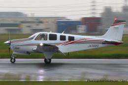いおりさんが、八尾空港で撮影したノエビア G36 Bonanzaの航空フォト(飛行機 写真・画像)