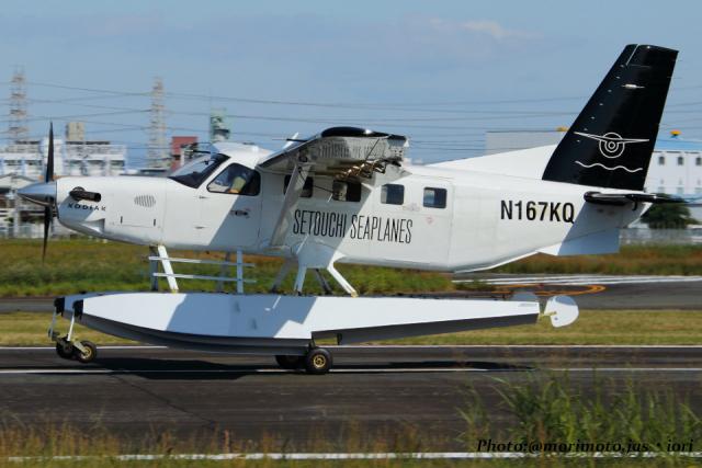 いおりさんが、八尾空港で撮影したクエスト・エアクラフト・カンパニー Kodiak 100の航空フォト(飛行機 写真・画像)
