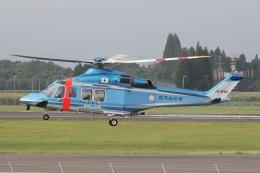 MOR1(新アカウント)さんが、鹿児島空港で撮影した鹿児島県警察 AW139の航空フォト(飛行機 写真・画像)