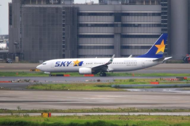 Hiro-hiroさんが、羽田空港で撮影したスカイマーク 737-82Yの航空フォト(飛行機 写真・画像)