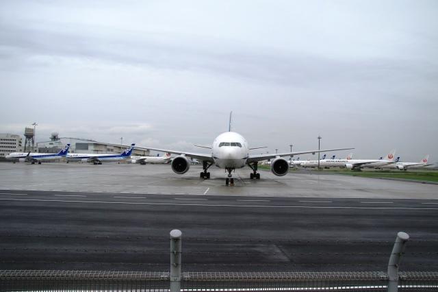 Hiro-hiroさんが、羽田空港で撮影した全日空 777-281/ERの航空フォト(飛行機 写真・画像)