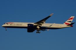 zettaishinさんが、ジェネラル・エドワード・ローレンス・ローガン国際空港で撮影したブリティッシュ・エアウェイズ A350-1041の航空フォト(飛行機 写真・画像)