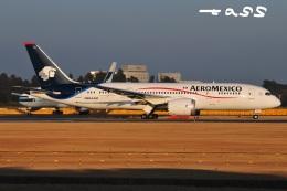 tassさんが、成田国際空港で撮影したアエロメヒコ航空 787-8 Dreamlinerの航空フォト(飛行機 写真・画像)