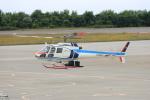 Tomochanさんが、函館空港で撮影した中日本航空 AS350B Ecureuilの航空フォト(飛行機 写真・画像)
