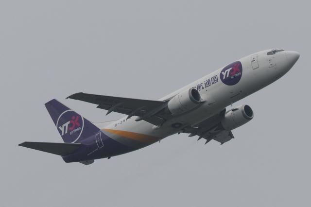 木人さんが、成田国際空港で撮影したYTOカーゴ・エアラインズ 737-37Kの航空フォト(飛行機 写真・画像)