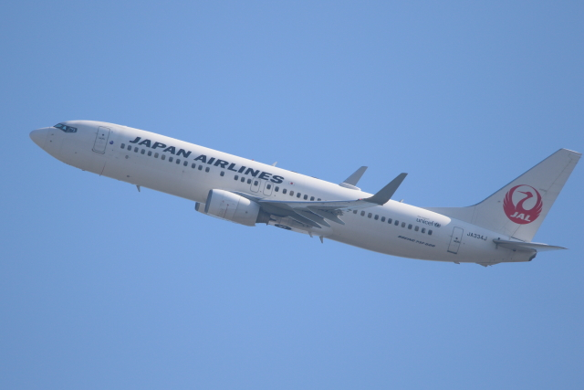 kaz787さんが、伊丹空港で撮影した日本航空 737-846の航空フォト(飛行機 写真・画像)