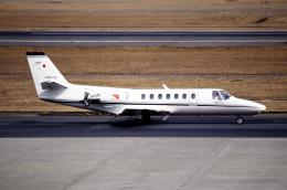 なごやんさんが、名古屋飛行場で撮影した読売新聞 560 Citation Encoreの航空フォト(飛行機 写真・画像)