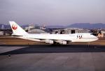なごやんさんが、名古屋飛行場で撮影した日本航空 747-246Bの航空フォト(飛行機 写真・画像)