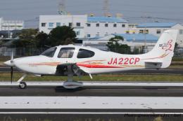 いおりさんが、八尾空港で撮影した日本個人所有 SR22 G2の航空フォト(飛行機 写真・画像)