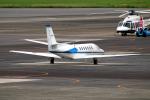 なごやんさんが、名古屋飛行場で撮影した中日本航空 560 Citation Vの航空フォト(飛行機 写真・画像)
