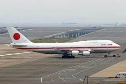 szkkjさんが、羽田空港で撮影した航空自衛隊 747-47Cの航空フォト(飛行機 写真・画像)