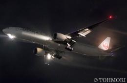 遠森一郎さんが、福岡空港で撮影した日本航空 777-346/ERの航空フォト(飛行機 写真・画像)