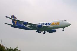 szkkjさんが、成田国際空港で撮影したアトラス航空 747-47UF/SCDの航空フォト(飛行機 写真・画像)