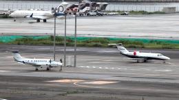 誘喜さんが、羽田空港で撮影したユタ銀行 Citation CJ4(525C)の航空フォト(飛行機 写真・画像)