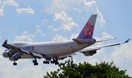 Souma2005さんが、香港国際空港で撮影したチャイナエアライン 747-409F/SCDの航空フォト(飛行機 写真・画像)