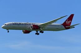 Souma2005さんが、香港国際空港で撮影したヴァージン・アトランティック航空 787-9の航空フォト(飛行機 写真・画像)