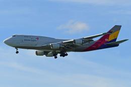 Souma2005さんが、香港国際空港で撮影したアシアナ航空 747-419(BDSF)の航空フォト(飛行機 写真・画像)