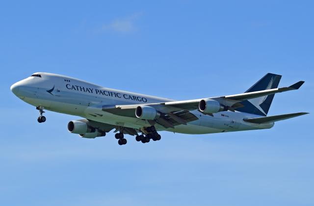 Souma2005さんが、香港国際空港で撮影したキャセイパシフィック航空 747-467F/ER/SCDの航空フォト(飛行機 写真・画像)