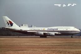 tassさんが、成田国際空港で撮影したマレーシア航空 747-4H6Mの航空フォト(飛行機 写真・画像)
