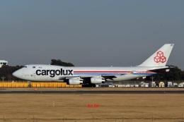 キットカットさんが、成田国際空港で撮影したカーゴルクス 747-4R7F/SCDの航空フォト(飛行機 写真・画像)
