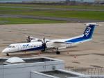 名無しの権兵衛さんが、新潟空港で撮影したANAウイングス DHC-8-402Q Dash 8の航空フォト(飛行機 写真・画像)