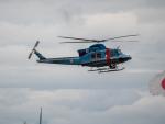 名無しの権兵衛さんが、新潟空港で撮影した新潟県警察 412EPの航空フォト(飛行機 写真・画像)