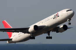 Hariboさんが、中部国際空港で撮影した日本航空 767-346/ERの航空フォト(飛行機 写真・画像)