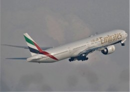 takikoki50000さんが、関西国際空港で撮影したエミレーツ航空 777-31H/ERの航空フォト(飛行機 写真・画像)