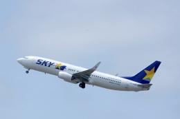 kitayocchiさんが、新千歳空港で撮影したスカイマーク 737-8ALの航空フォト(飛行機 写真・画像)