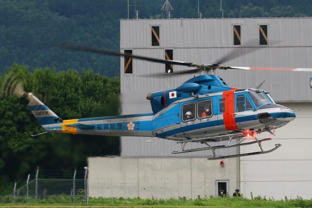 Zakiyamaさんが、熊本空港で撮影した福岡県警察 412EPの航空フォト(飛行機 写真・画像)