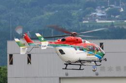 Zakiyamaさんが、熊本空港で撮影した愛媛県消防防災航空隊 BK117C-2の航空フォト(飛行機 写真・画像)