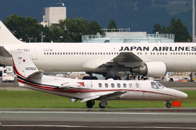 Zakiyamaさんが、熊本空港で撮影した読売新聞 560 Citation Encore+の航空フォト(飛行機 写真・画像)
