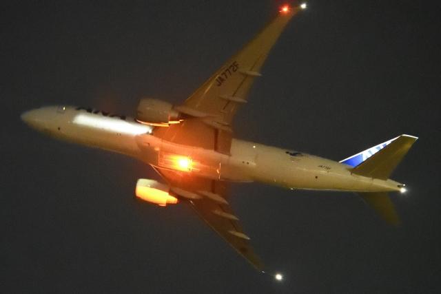 木人さんが、成田国際空港で撮影した全日空 777-F81の航空フォト(飛行機 写真・画像)