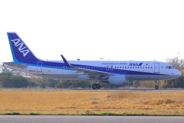 CYGNUS_20-1101さんが、米子空港で撮影した全日空 A320-214の航空フォト(飛行機 写真・画像)